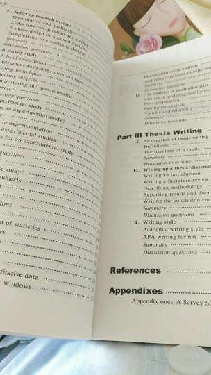 外研社高等英语教育学术文库:应用语言学研究方法与论文写作 晒单图