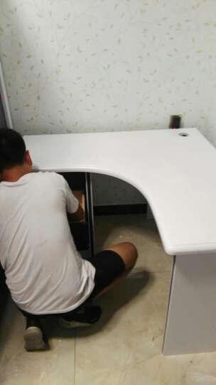 七彩元素儿童学习书桌书柜组合 欧式转角直角写字台357S 转角书桌(不含椅子) 晒单图
