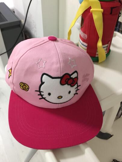 凯蒂猫(HELLO KITTY)儿童网眼棒球帽 KT4057 玫粉 54cm 晒单图