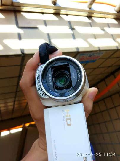 索尼(SONY)HDR-CX680 高清数码摄像机 5轴防抖 30倍光学变焦(白色) 家用DV/摄影机/录像机 晒单图