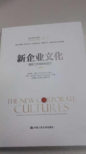 新企业文化:重获工作场所的活力(跟大师学管理) 晒单图