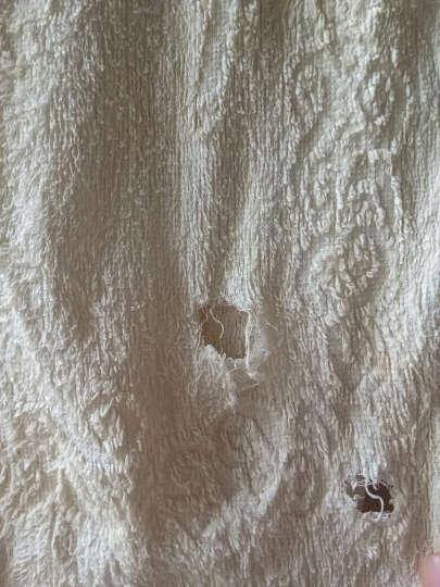 金号纯棉卡通绣花毛巾多条装 纯棉洗脸毛巾 柔软吸水多款可选 小熊款红黄各四条 晒单图