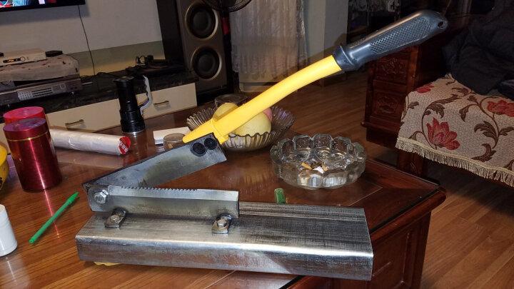 铡刀家用型中药材切片刀年糕机牛轧糖牛羊肉切片机排骨粉条 防滑铣齿250钢座 晒单图