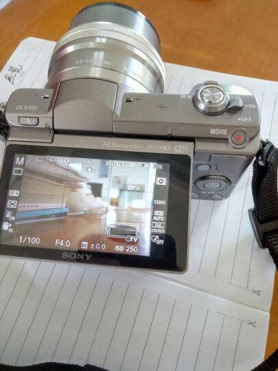 索尼(SONY)ILCE-5100L APS-C单镜头微单相机/照相机(相机包/存储卡套装) 白色( a5100L/α5100L) 晒单图
