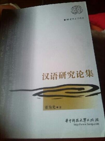 汉语研究论集 晒单图