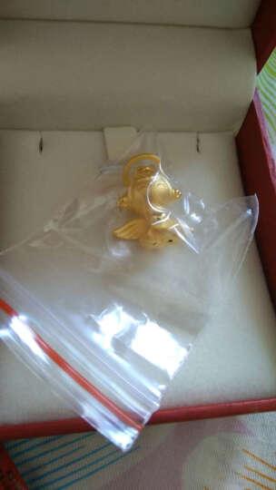 周大福 福星宝宝系列 3D硬金福宝 定价足金黄金吊坠R【多款可选】 R7620 家和宝宝 3680元 晒单图