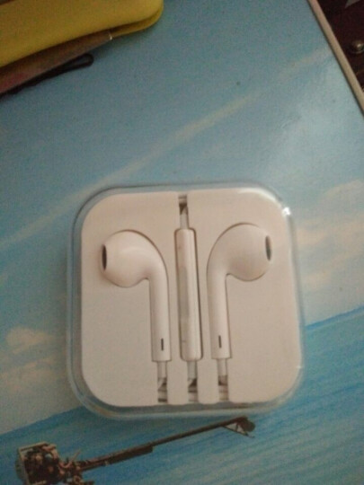 【次日达】FO苹果耳机线控手机入耳式适用iPhone5/6s/7p/8plus/xsm/xr/ipa 扁头Lightning接口 适用苹果8/7/X 晒单图