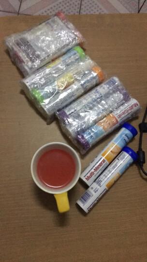 德国原装进口DAS gesunde plus维生素c泡腾片维生素b 补钙 补铁锌补充VC 小熊糖两瓶装 晒单图