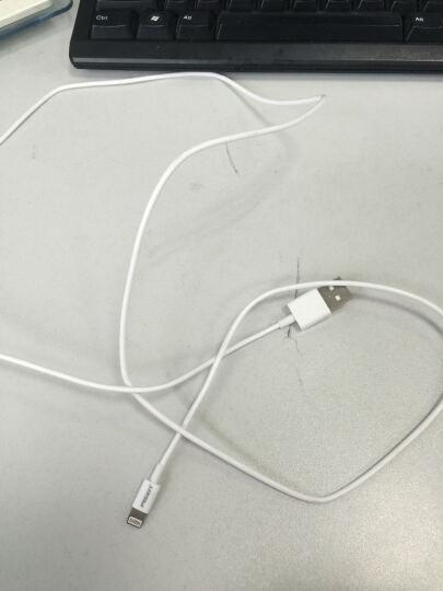 品胜(PISEN)苹果数据线 Xs Max/XR/X/8手机充电线 1.2米白色 适用于苹果5/6S/7/8Plus iPad Air/Pro 晒单图