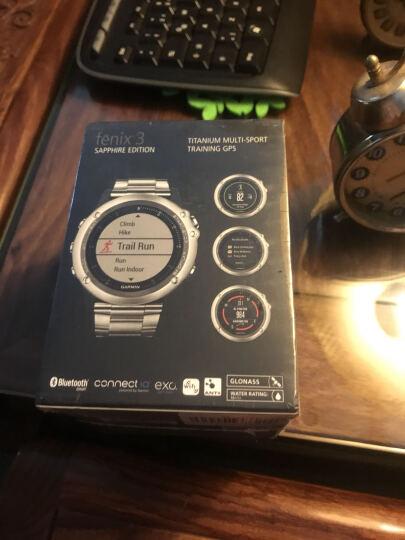 佳明(GARMIN)手表 飞耐时3Fenix3GPS 蓝宝石玻璃镜面户外运动登山腕表 钛合金智能男表英文版 晒单图