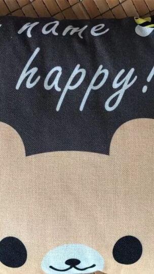 熙云阁家纺 靠垫抱枕被子多功能办公折叠午休枕汽车办公椅两用午睡卡通学生枕芯 香蕉小猴 折叠45cm*45cm展开105cm*155cm 晒单图