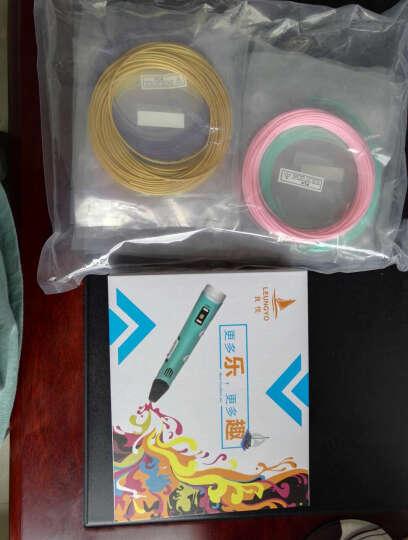 创意玩具3d打印笔送儿童立体涂鸦笔绘画笔送男孩女孩实用新奇特生日礼物 天蓝色-带显示屏 晒单图