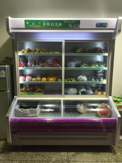 乐创(lecon)点菜柜冰柜冷藏展示柜麻辣烫蔬菜水果保鲜冰箱柜麻辣烫蔬菜立式饮料展示柜 2米双温上冷藏下冷冻 晒单图