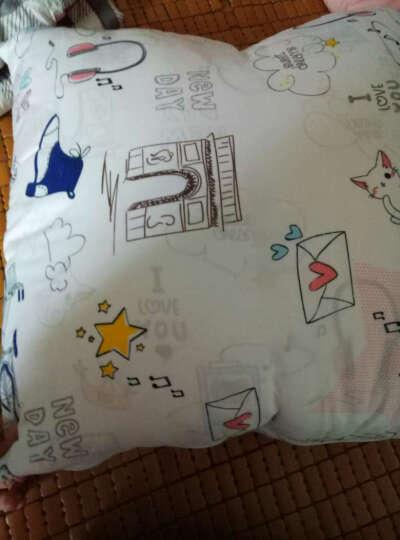 自然大师 抱枕被子两用夏凉空调被办公室靠垫被沙发午睡抱枕靠背 石头剪刀布 中号加大抱枕被(120*160cm) 晒单图