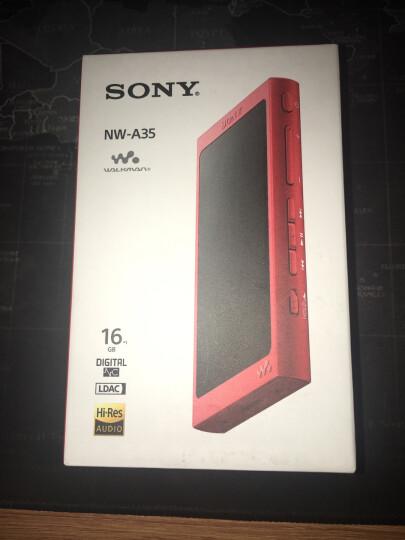 索尼(SONY) NW-A35 MP3无损音乐播放器 高解析度Walkman(不含耳机) 朱砂红 晒单图