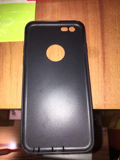 触野【自带防尘塞】苹果6s手机壳全包磨砂保护套指环扣防摔适用于iphone6/plus 6/6s 4.7英寸-草绿色【送指环扣】 晒单图