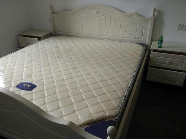 莫塔 MOTTA韩式田园床头柜 简约白色欧式床头柜储物柜家具 晒单图