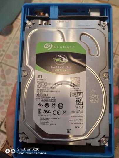 希捷(SEAGATE)酷鱼 2T 台式机电脑硬盘 ST2000DM008 机械硬盘2T 7200转 晒单图