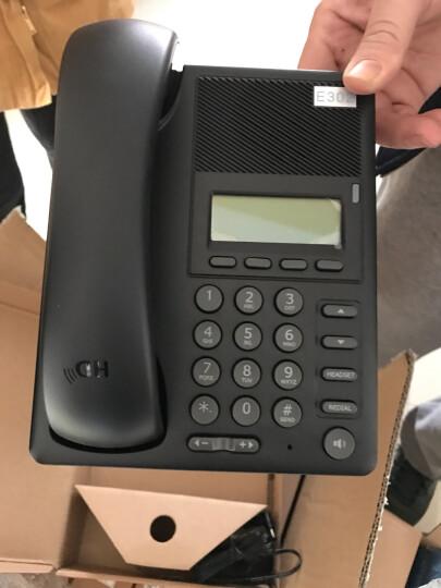 DCOMA VOIP网络电话机2线SIP注册HD手柄IP高清语音通话DGP302电话机E302 中英文网络电话机(圆形键帽) 晒单图