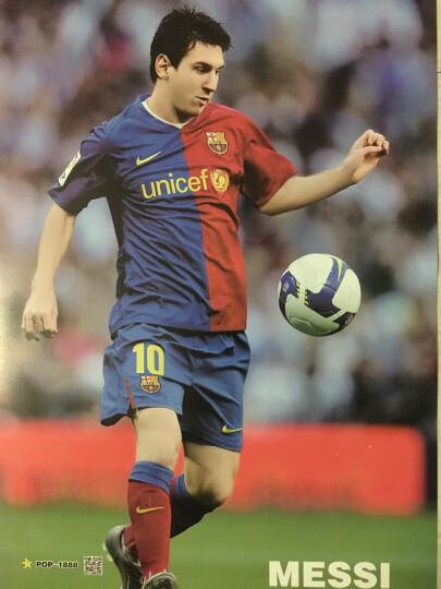 皇马c罗梅西内马尔贝克汉姆本泽马卡卡足球明星海报墙贴一套8张 内马尔A款海报 晒单图