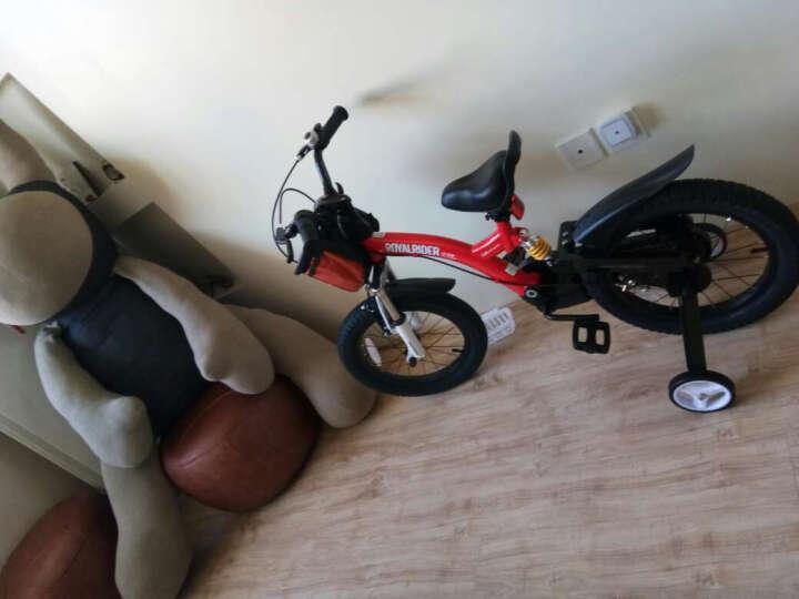 优贝(RoyalBaby)小飞熊儿童自行车 小男孩女孩自行车山地减震单车 红色 16寸 晒单图
