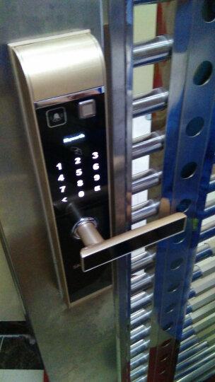 创维(Skyworth)指纹锁 家用智能锁电子锁密码锁防盗门锁R8 R8-香槟金 晒单图