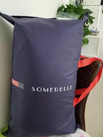 安睡宝(somerelle)枕头枕芯 德国进口一千零一夜纤维防螨抗菌枕头46*72*3cm 晒单图