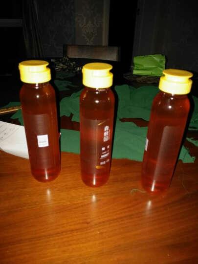 森蜂园 百花蜂蜜418gx3瓶量贩装 纯净百花蜜 野生土蜂蜜 天然蜂蜜 晒单图