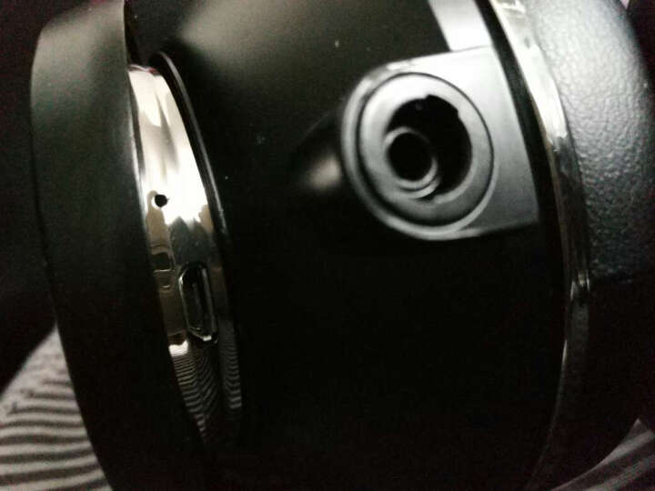 蓝弦 UFO PLUS 12喇叭头戴式蓝牙耳机 无线发烧音乐耳机 游戏耳机 黑色 晒单图