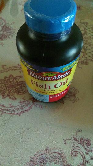 Nature Made 鱼油深海鱼油软胶囊降血脂降血压欧米伽3 美国原装进口 三倍Omega3-6-9 60粒 1瓶装 晒单图