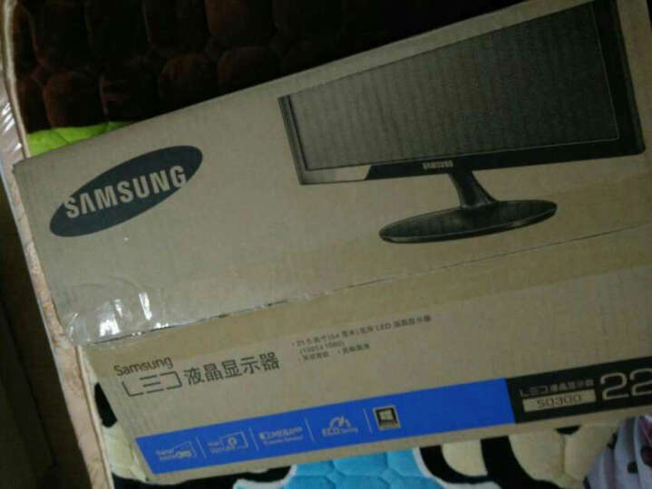 三星(SAMSUNG)S22D300NY 21.5英寸LED背光液晶显示器 晒单图