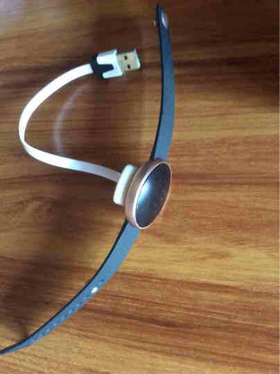 博之轮(BOZLUN) 智能运动手环华为小米通用手环男女手表测心率来电提醒计步器防水情侣表 高贵紫 晒单图