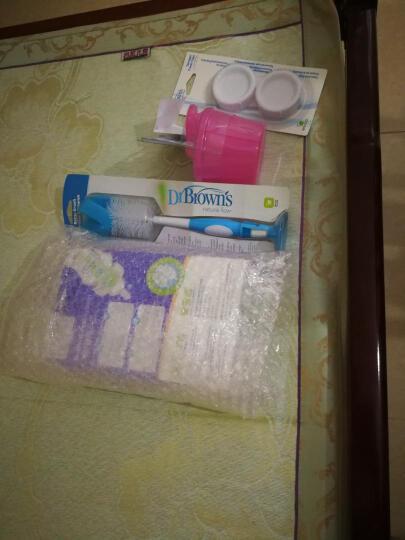 布朗博士(DrBrown's)新生儿宽口径玻璃奶瓶祝福礼盒套装(晶彩版奶瓶+奶粉盒+奶瓶盖+奶瓶刷) 晒单图