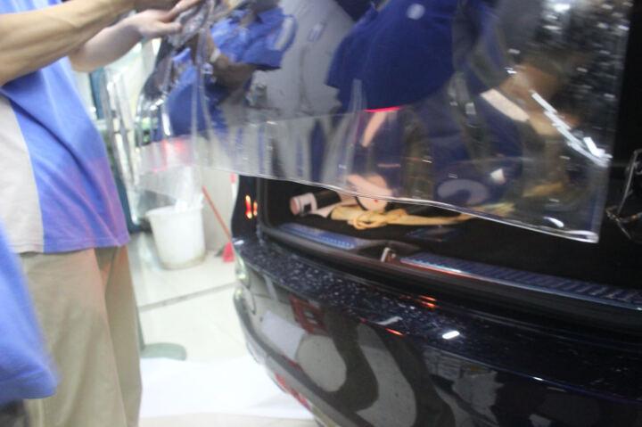 【包施工】美国UPPF隐形车衣 汽车漆面透明保护膜车漆透明膜 划痕自动修复全国连锁官方授权 精英E系列(双涂层7.5mil) 轿车车型+包施工 晒单图