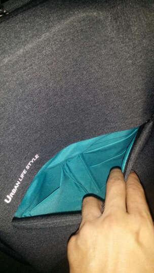 小米(MI)极简都市双肩包 休闲商务笔记本电脑包14英寸 男女书包双肩背包 深灰色 晒单图