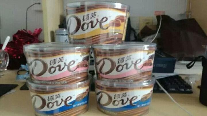 德芙Dove巧克力分享碗装 摩卡榛仁巧克力糖果巧克力休闲零食243g 晒单图