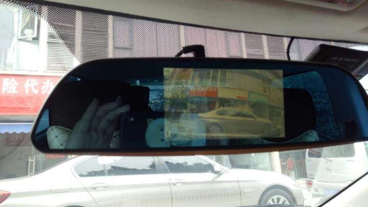 帕萨特TD-95 7寸大屏行车记录仪高清夜视倒车影像一体机 前后双镜头 晒单图