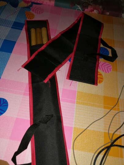 便携式背包加厚牛津布白蜡杆武术棍包双节棍包红缨枪袋少林棍包袋 黑色红边长190厘米 晒单图