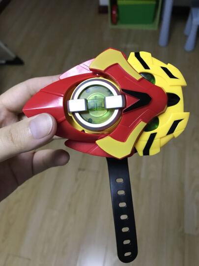 猪猪侠 超星锁超星萌宠变身器发射子弹声光手表套装猪猪侠五灵锁玩具 石甲熊(基础版) 晒单图