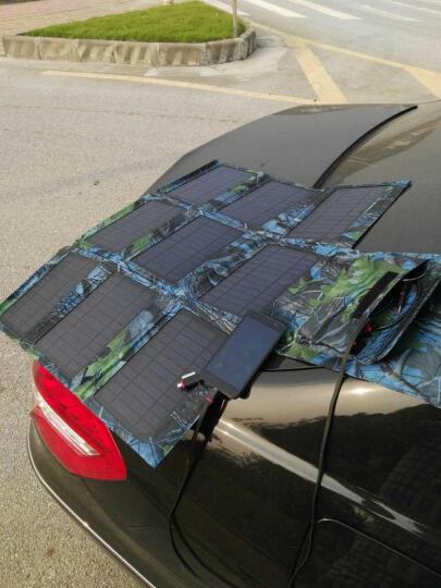 陆战旅 LS26 户外便携式太阳能充电宝 31W超大功率 专业级折叠充电板充电器 快充 晒单图