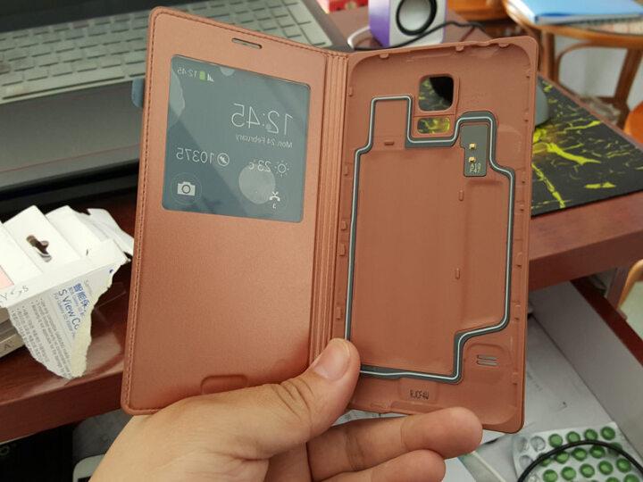 三星 S5手机 插卡式炫彩保护套(Moschino 绿+和平) 适用于G9006/G9008/G9009 晒单图