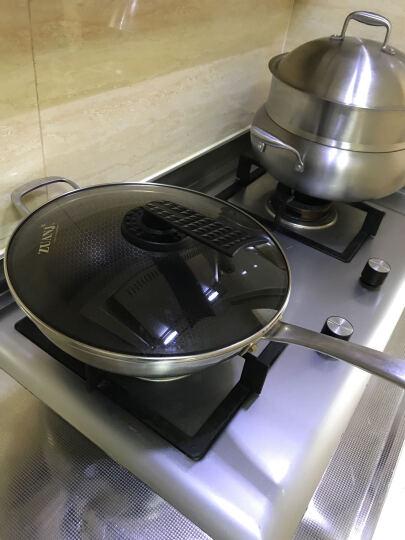 钻技(ZUANJ)炒锅聚能不粘炒锅30cm不锈钢平底煎炒锅电磁炉通用 30cm 晒单图