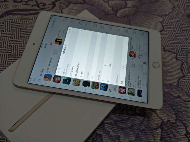 【备件库95新】Apple iPad mini 4 平板电脑 7.9英寸 128G 金色 晒单图