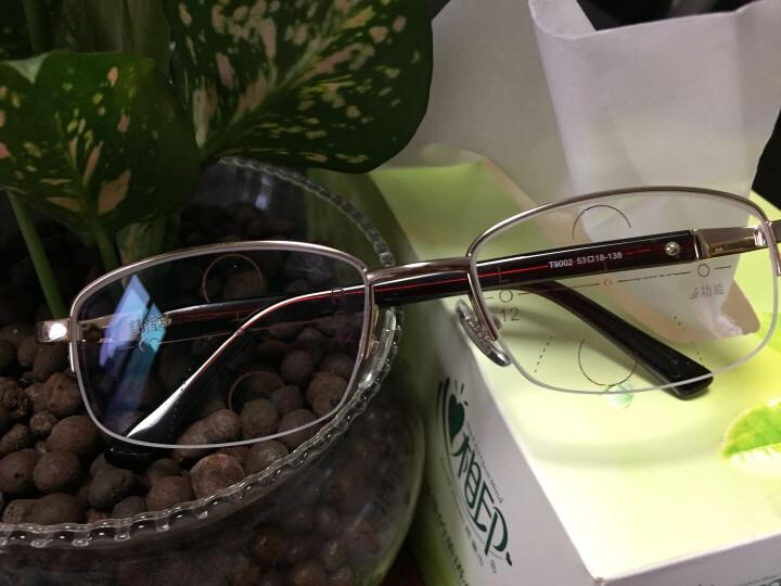 田崎TASAKI老花镜男远近两用高档双光眼镜女智能变焦渐进多焦点防蓝光老光眼镜 男款/65-69岁推荐300度 晒单图