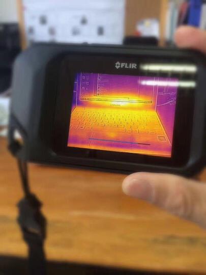 【官方旗舰店】菲力尔(FLIR)C2/C3热成像仪 工业建筑地暖电器检测进口红外线热像仪 C3+分析图片报告软件 晒单图