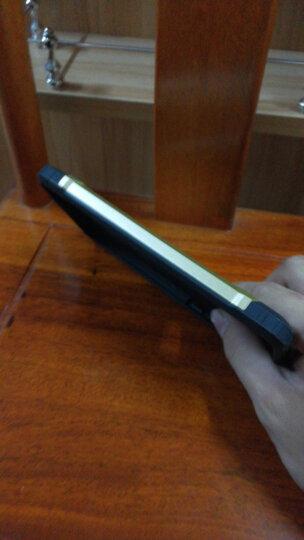 卡黛尔 华为mate9手机壳防摔硬壳硅胶保护套金属感全包男MHA-AL00外壳指环 古铜色 晒单图