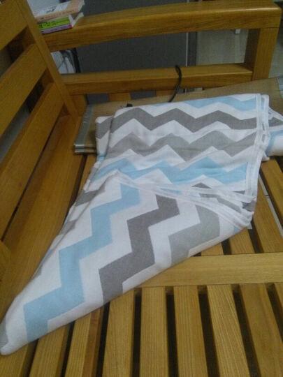 【婴儿A类】纯棉纱布毛巾被单双人空调毯宝宝儿童盖毯儿童毛巾毯学生毯子夏 木马 200*240 晒单图