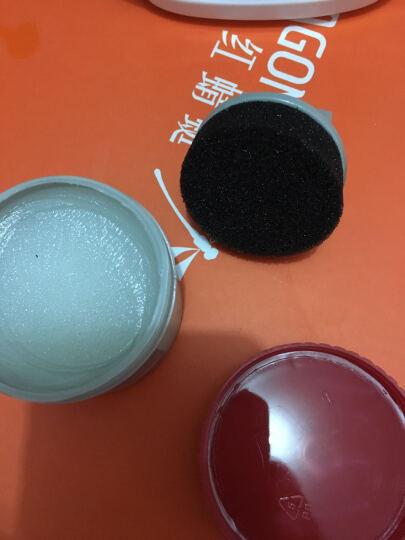 真皮保养油 皮革滋养膏护理油 补色皮鞋油套装带刷子去污上光保养油护理剂 黑色一支 晒单图