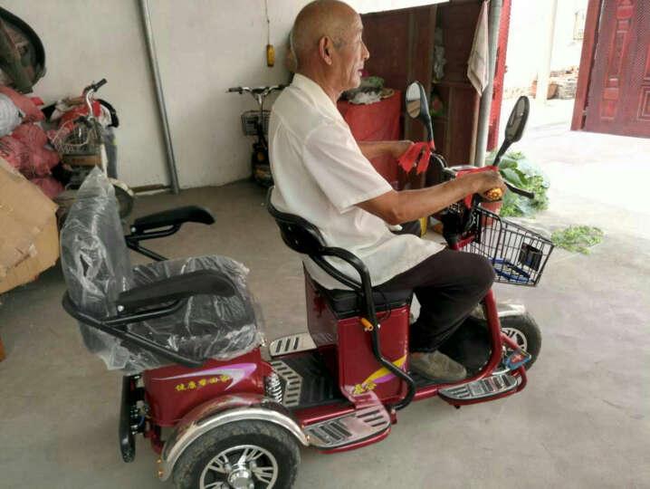 泰合 电动三轮车代步车老年代步车三轮电动车电瓶车助力车 差速电机48v20按铅酸电池 晒单图