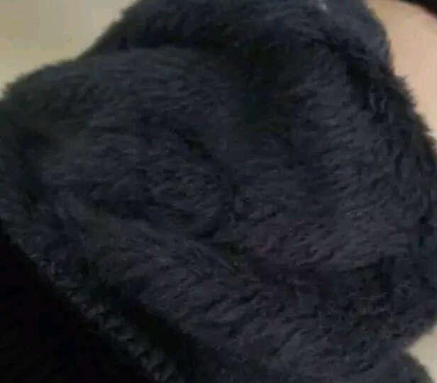 爱梦丝露 连帽卫衣女宽松秋冬季新款棉质韩版带帽加绒加厚款套头衫休闲风学生中长款外套2058 黑色加绒 L 晒单图